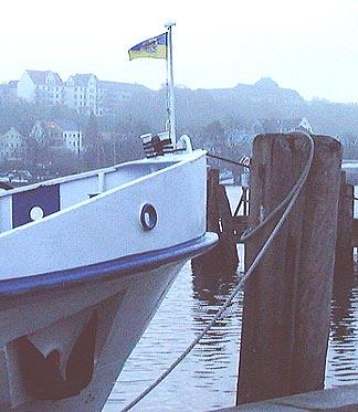 flagga till sjöss gös